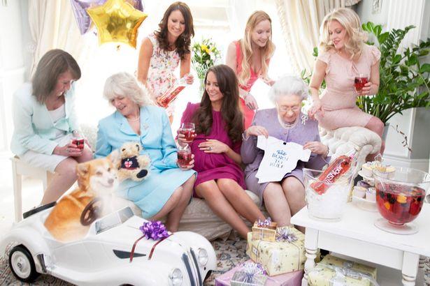 Alison-Jackson-imagines-Kate-Middletons-baby-shower