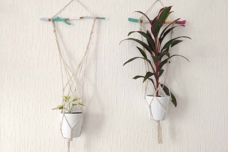 D co succombez la tendance des plantes suspendues for Plante a suspendre interieur