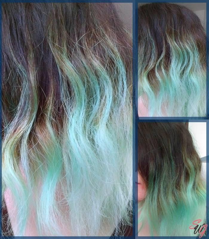 Test sur cheveux humides