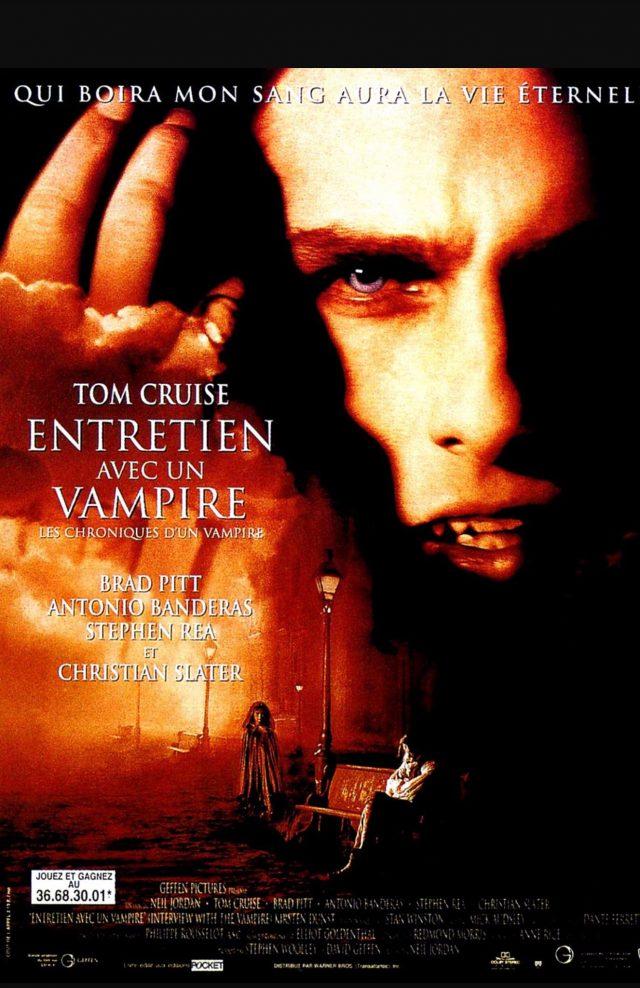 affiche du film Entretien avec un vampire