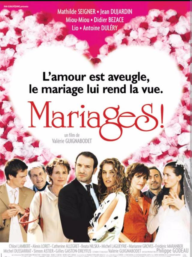 Affiche du film mariage