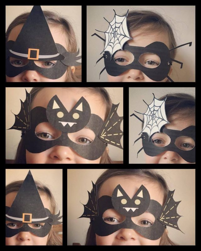 DIY halloween masques