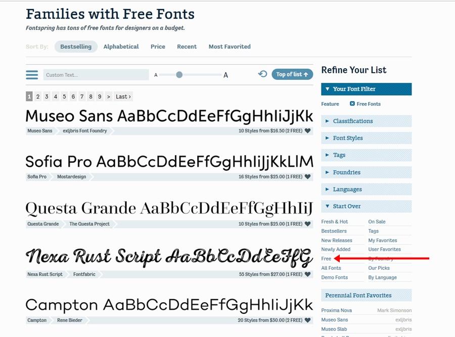 fontspring