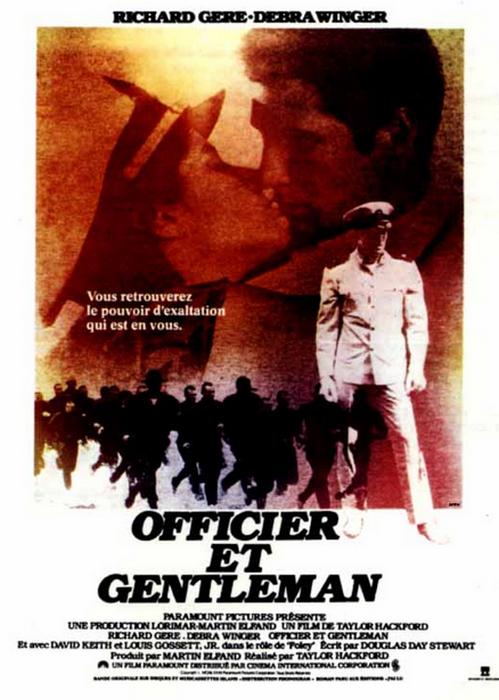 Affiche du film Officier and Gentleman