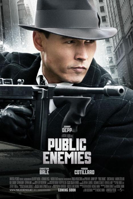 Affiche du film public enemies