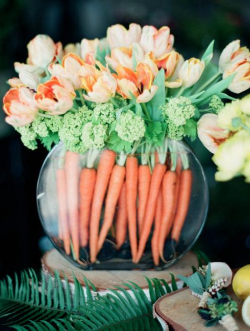 du bouquet carotte weddingchicks.com