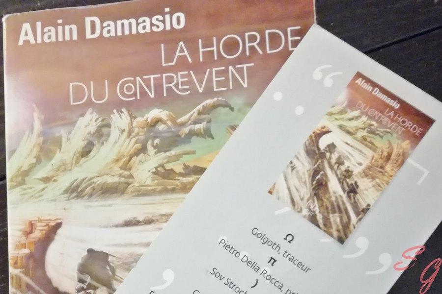 Nous vous faisons découvrir La horde du contrevent d'Alain Damasio.