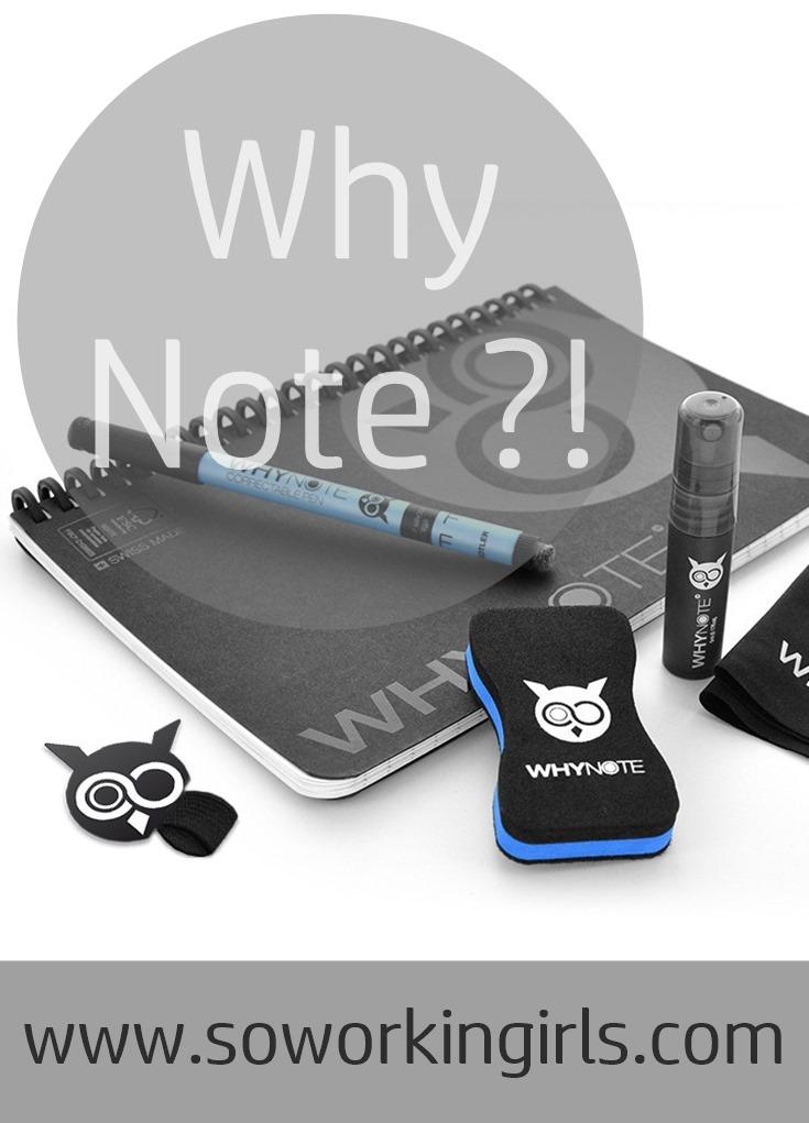 Découverte de la marque Why Note