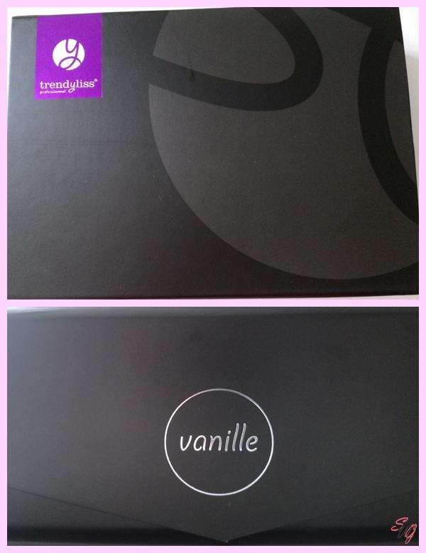 Présentation du fer à lisser spécial cheveux courts : Vanille de Trendyliss