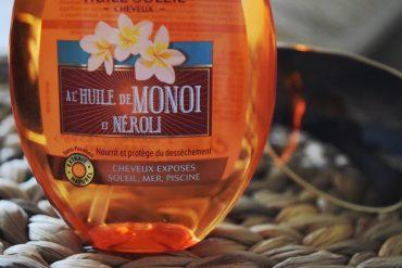 Huile soleil à base d'huile de Monoï et de Néroli
