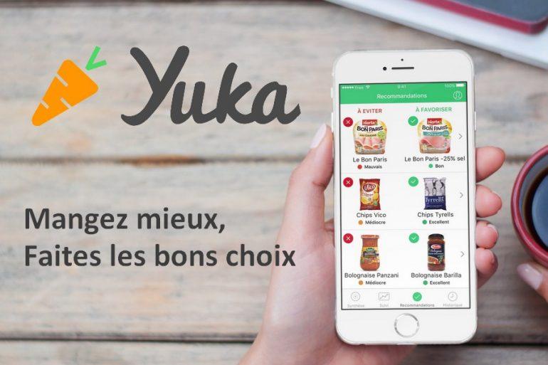 Application Yuka