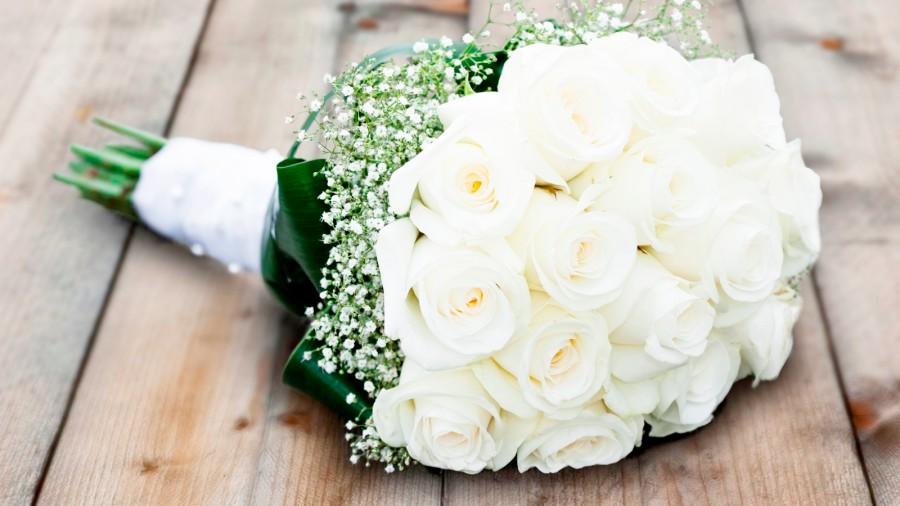 Bouquet de fleurs de la mariée