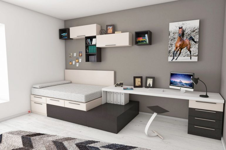 la chambre d adolescent un monde part so workin 39 girls. Black Bedroom Furniture Sets. Home Design Ideas