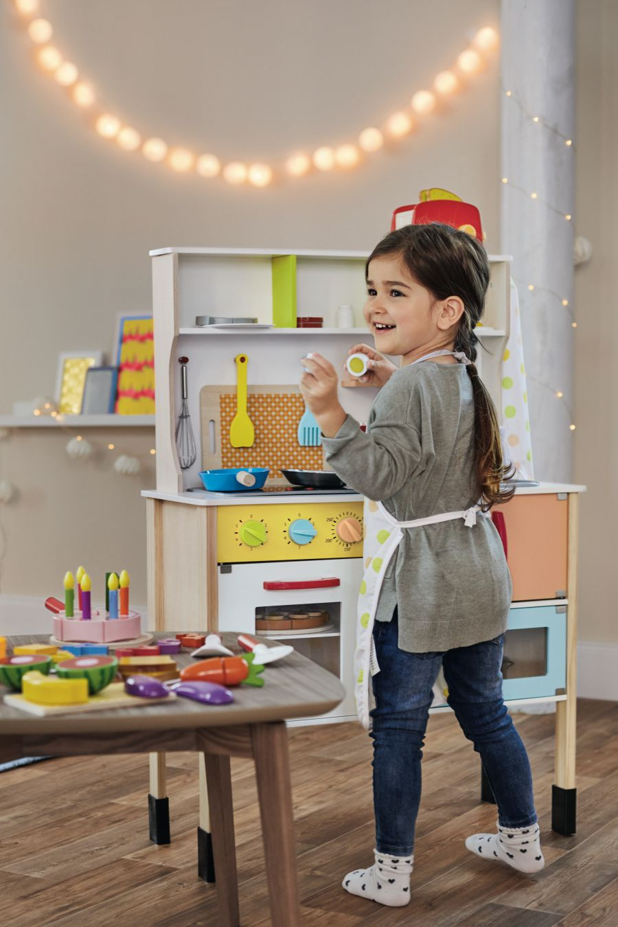 La collection de jouets en bois de chez lidl so workin 39 girls for Cuisine bois lidl
