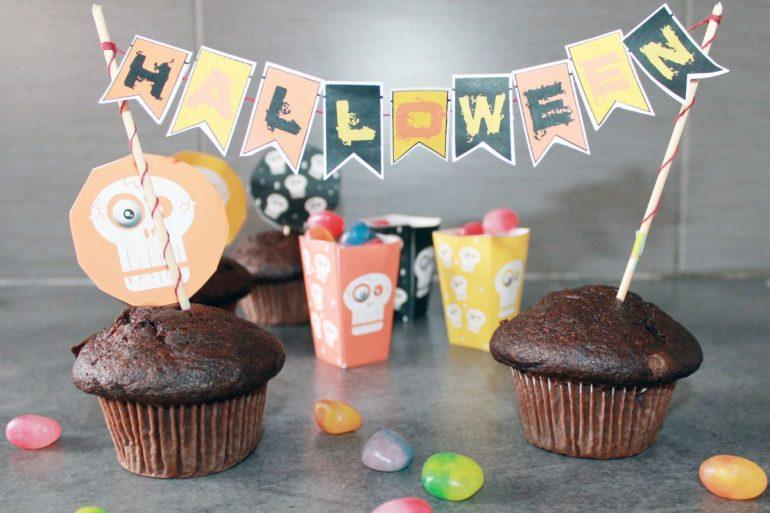 Freebies d corations de table pour halloween so workin for Decoration de table halloween
