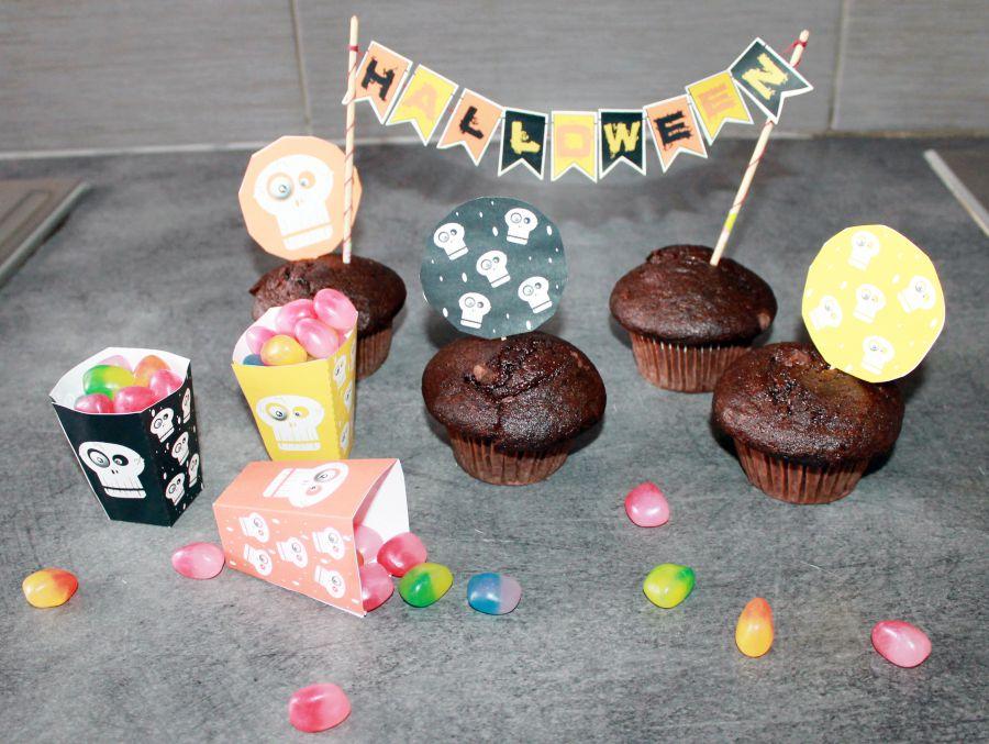 Décorations de table pour Halloween chez les So Workin'Girls