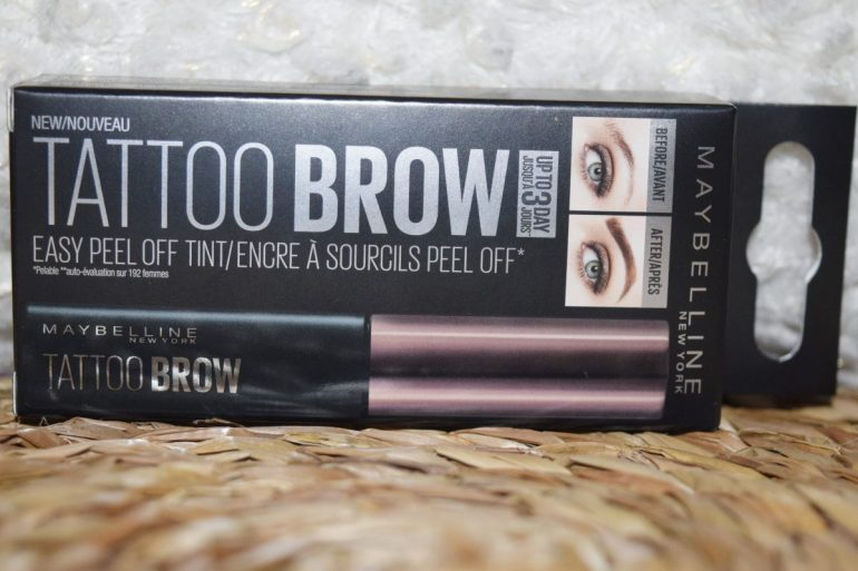 Tattoo Brow de Maybelline