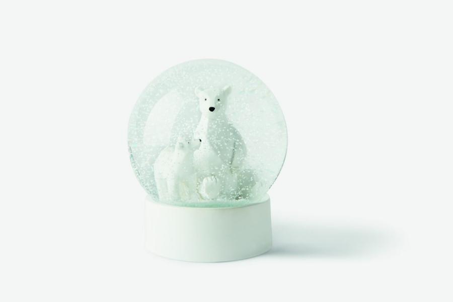 Boules de neige avec des ours polaires