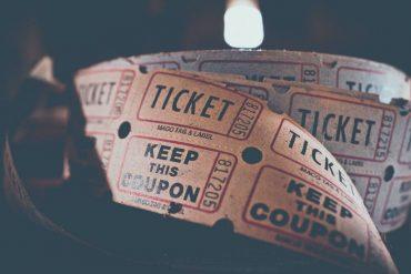 Tickets d'entrée du théâtre