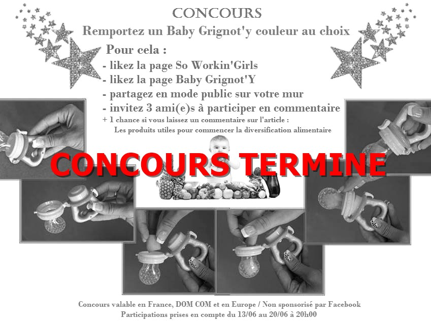 concours baby grignoty