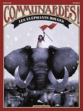 Les éléphants rouges. Sources : Vents d'Ouest