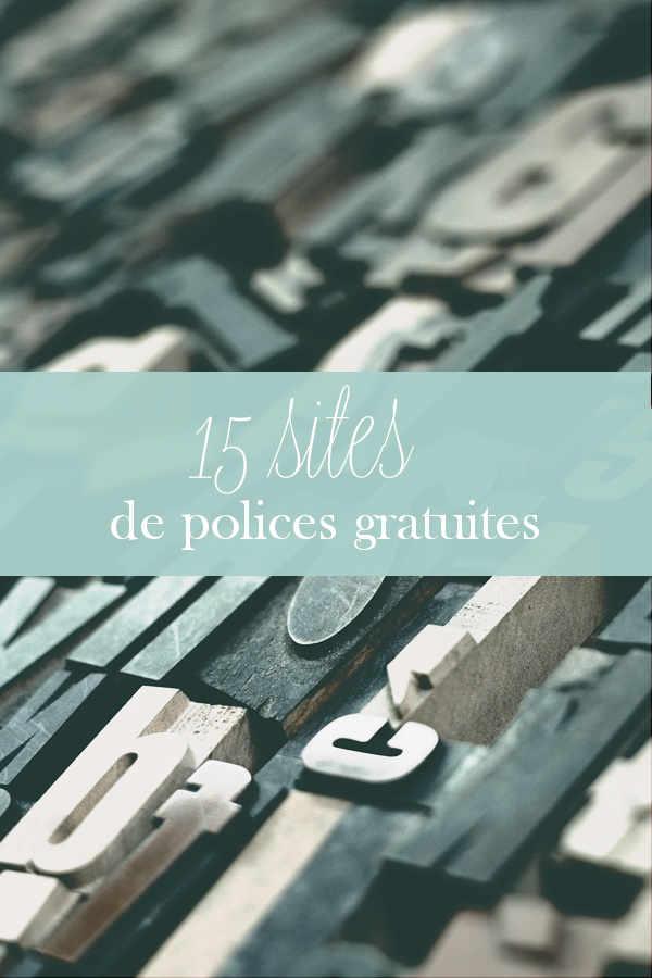 police ecriture gratuite