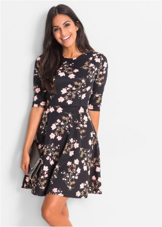 mode-robe-imprime-fleuri-swg