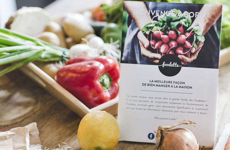 Les plats de Foodette, le concept des paniers repas livrés à domicile