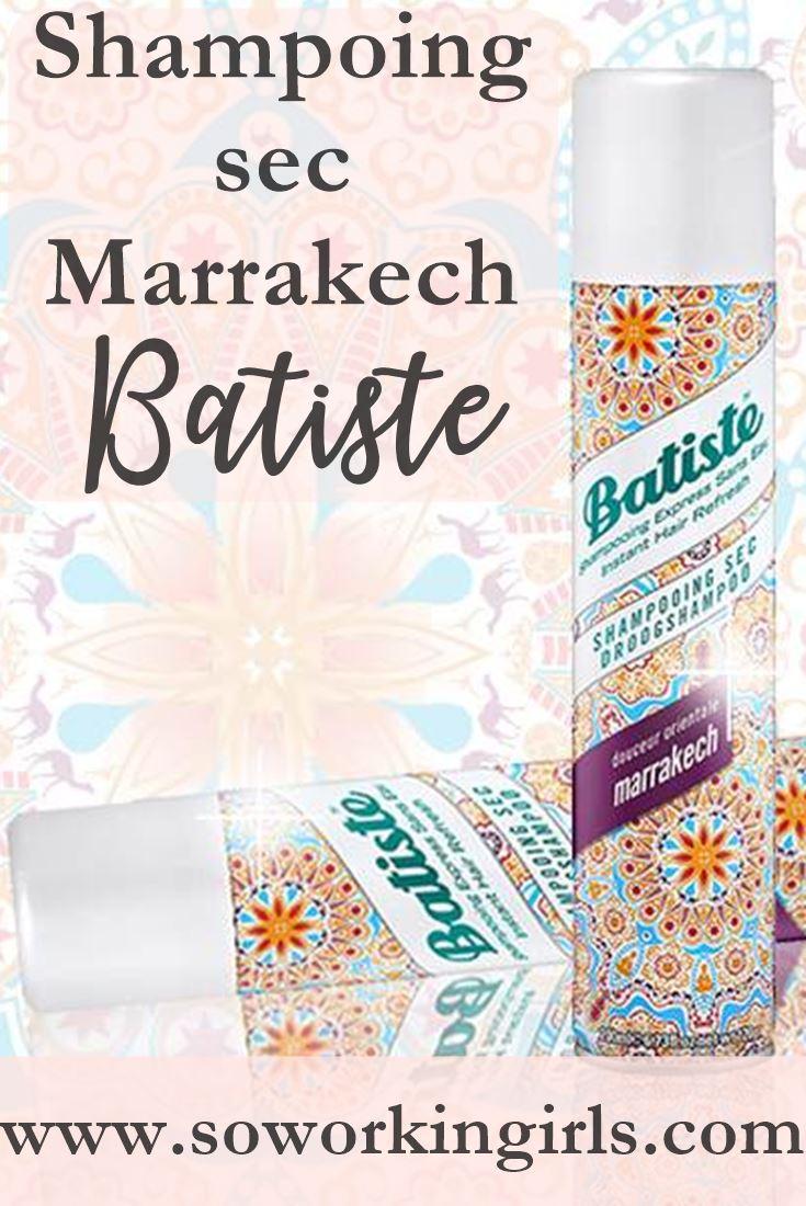 Notre avis sur le shampoing sec Marrakech de chez Batiste