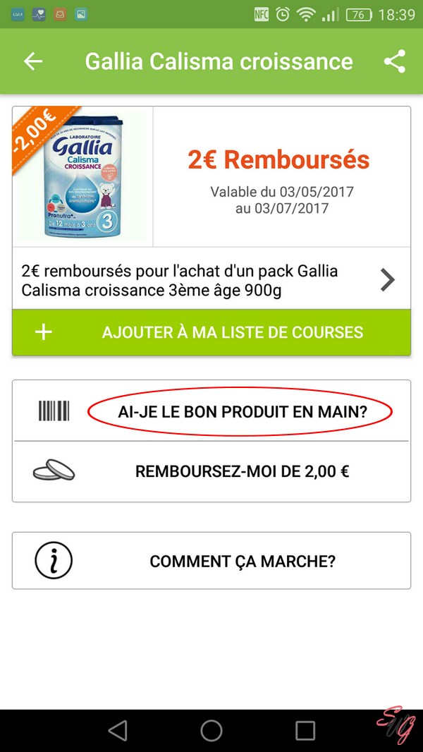 Verification produit Quoty