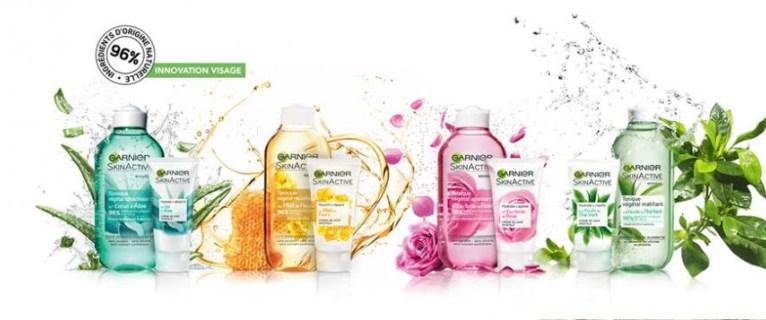 On vous présente la gamme nature aloe vera de skinactive, Garnier.