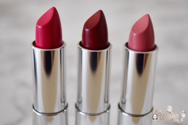 Les rouges à lèvres Color Sensational de Maybelline