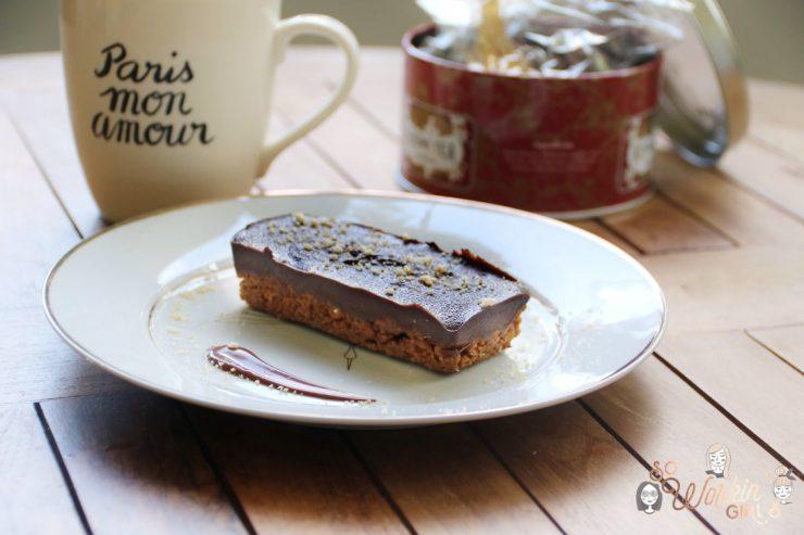 Une recette ultra simple et rapide de la tarte chocolat spéculoos, un délice !