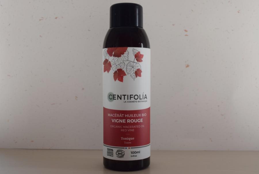 Tasse avec infusion circulation de Ladrôme et macérat huileux de Centifolia