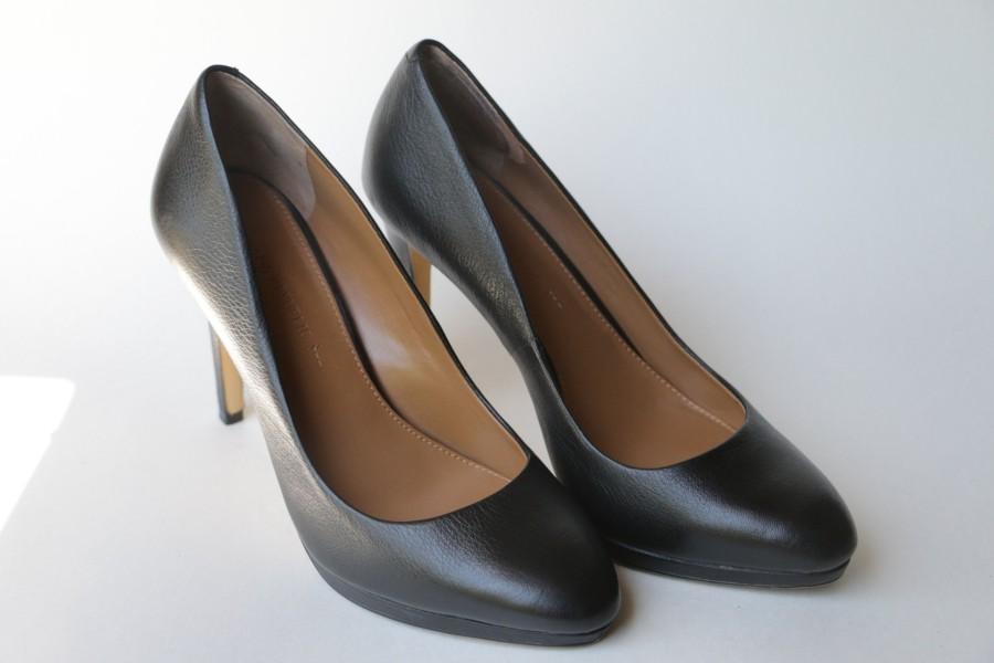 Chaussures à talons noir