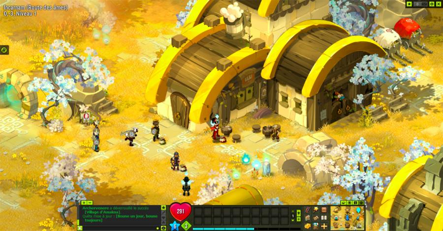 Screen du jeu vidéo Dofus