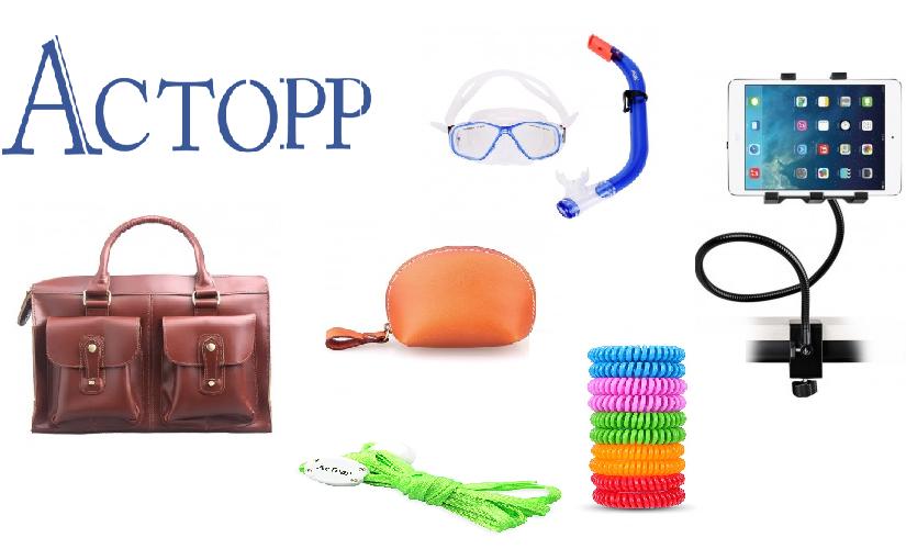 Les produits de la marque Actopp