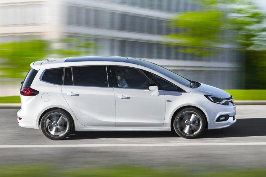Voiture monospace Opel Zafira