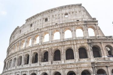 Le Colisée de Rome en Italie
