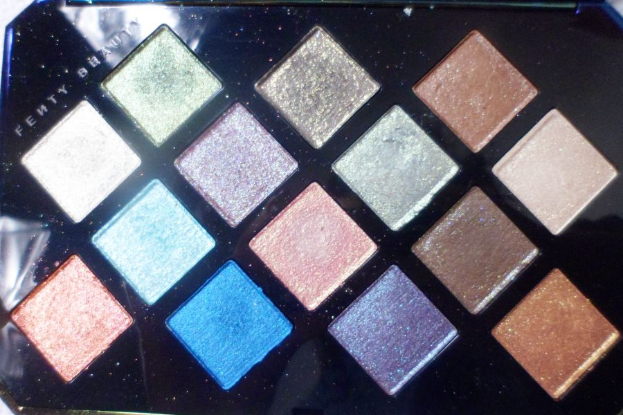 Palette galaxy de la marque Fenty Beauty par Rihanna