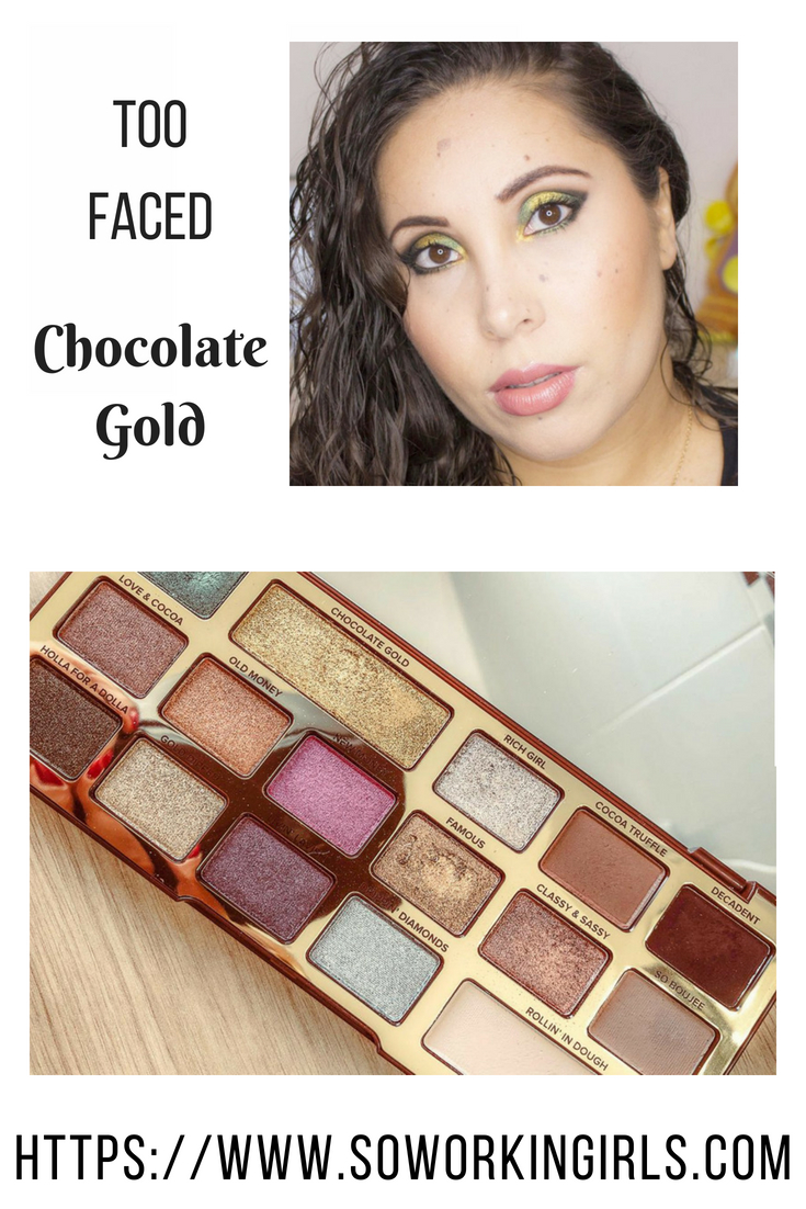 Palette Chocolate Gold de Too Faced