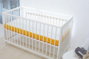 Lit bébé avec un matelas Eve Sleep