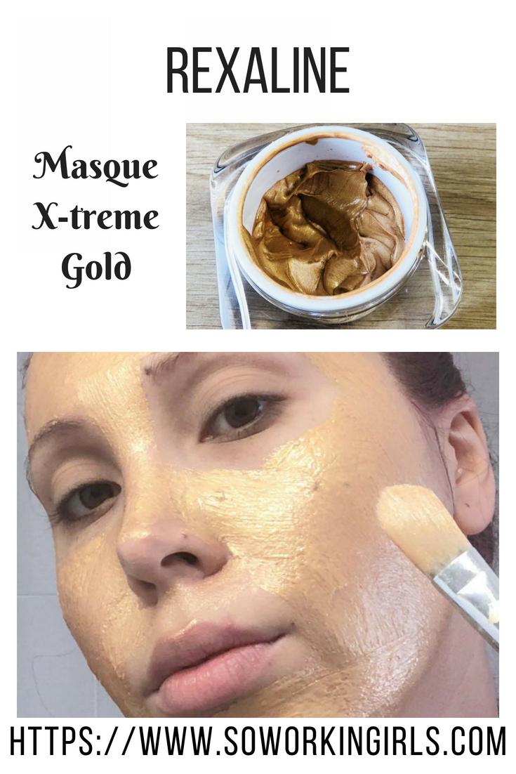 Masque X-treme Gold de la marque Rexaline