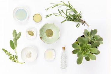 Produits de cosmétique naturels