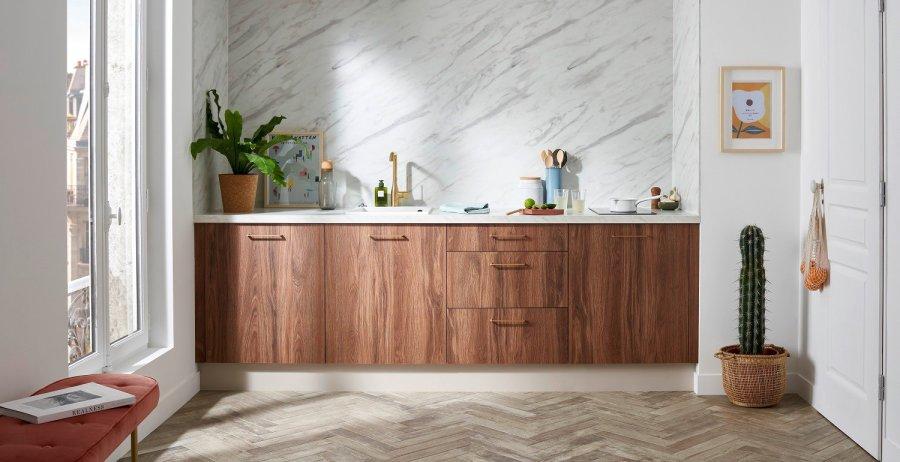 Nouvelle collection de cuisine de la marque Lapeyre, modèle Canopée