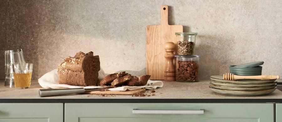 Nouvelle collection de cuisine de la marque Lapeyre, plan de travail compact