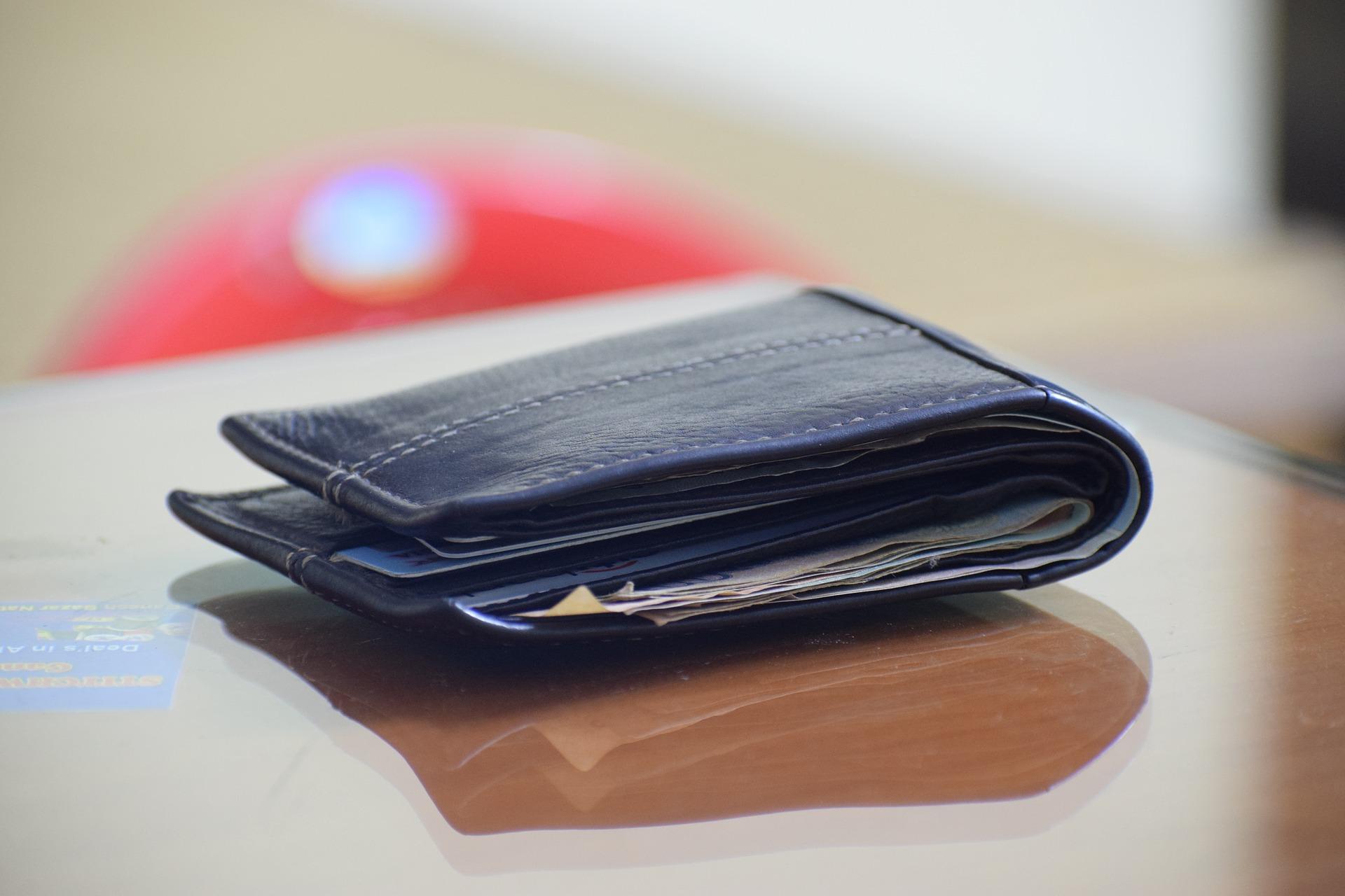 Portefeuille pour épargner de l'argent et gérer son budget